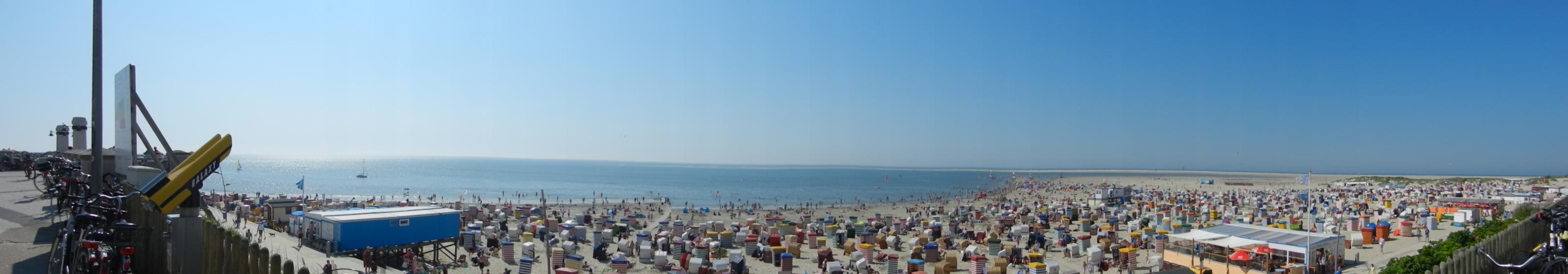 Borkum Panorama 2 Sommer 2012