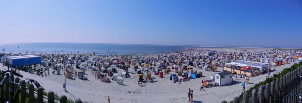 Borkum Panorama 3 Sommer 2012