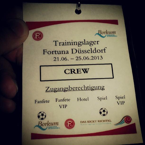 Trainingslager Fortuna Düsseldorf