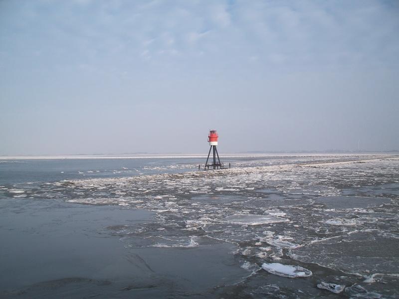 Fischerbalje Borkum (hier im Winter)