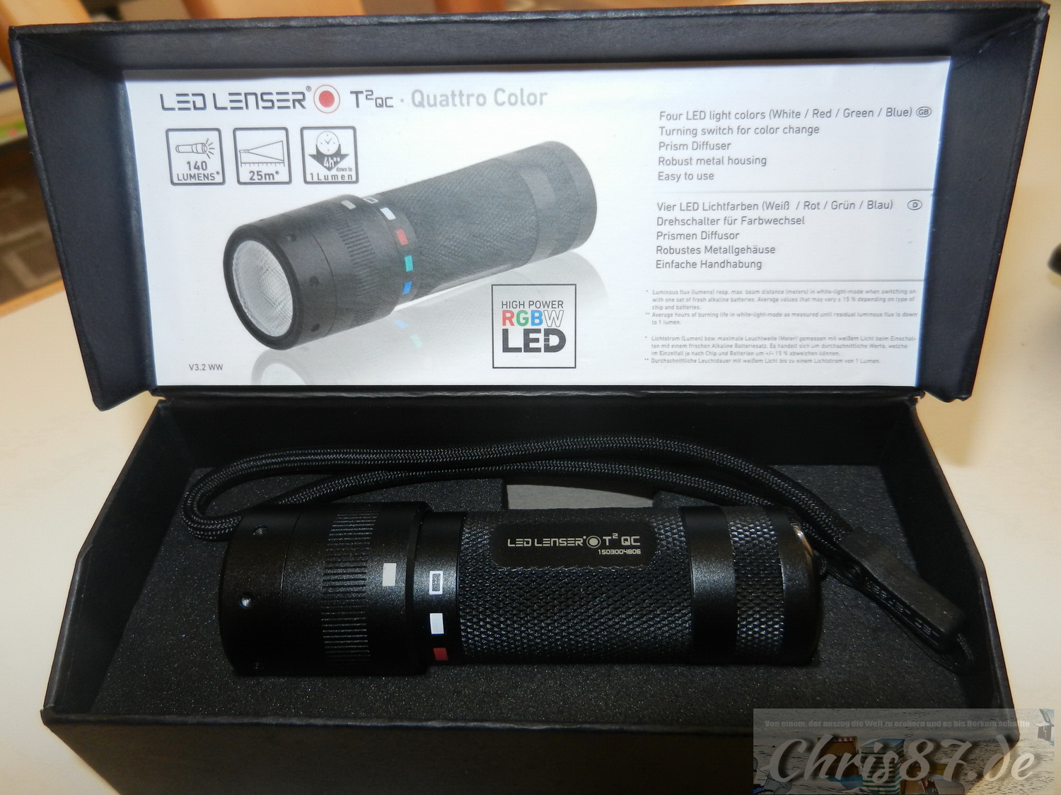 LED Lenser T2 QC