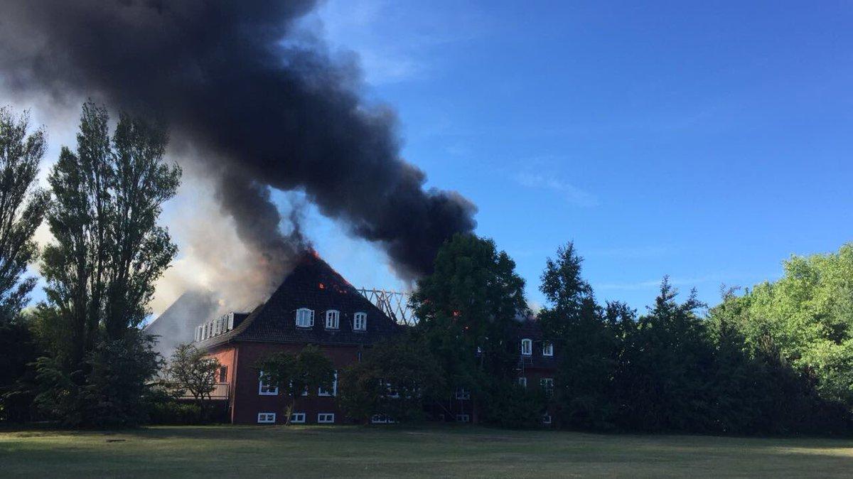 Feuer in Jugendherberge auf Borkum ausgebrochen