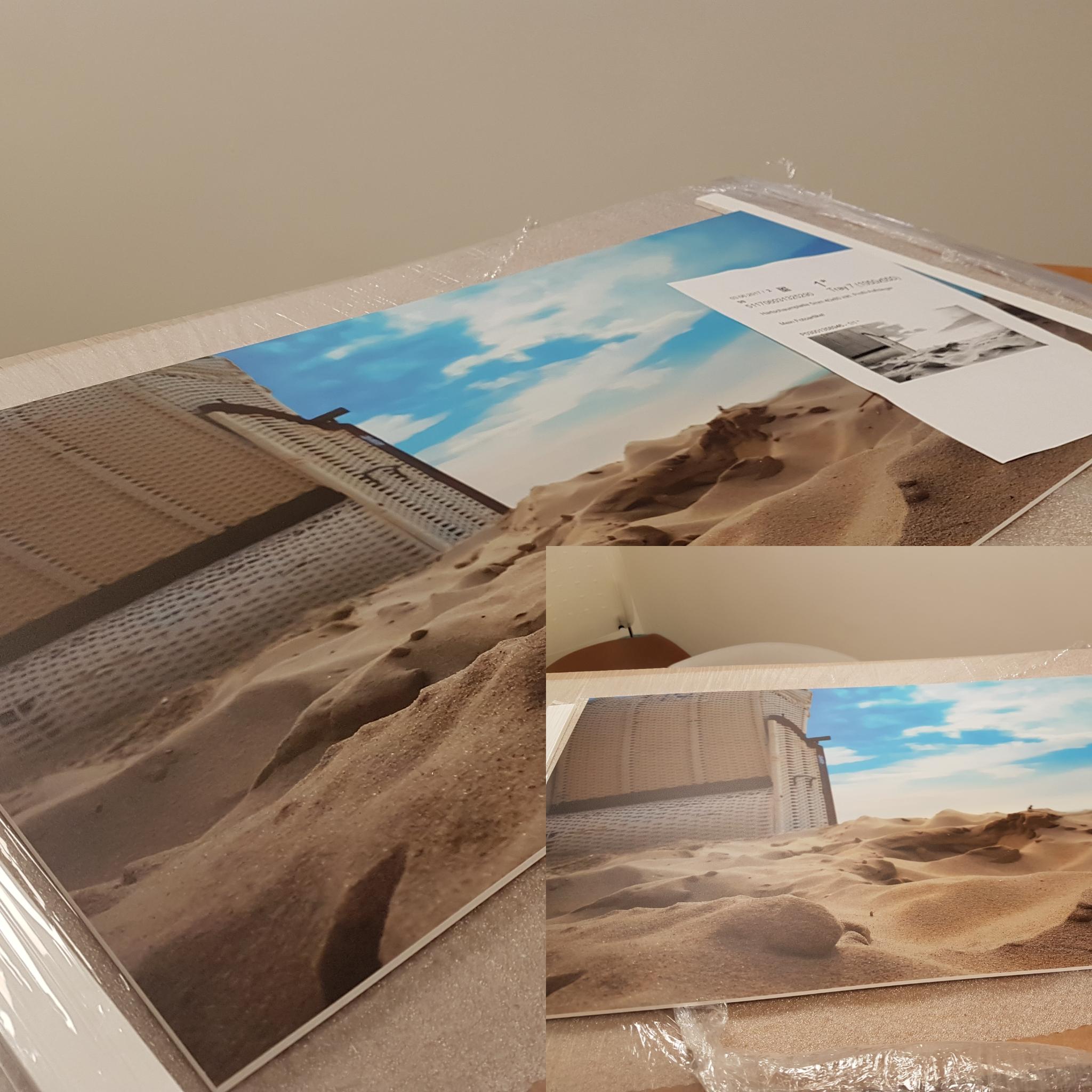Wandbild als Hartschaumplatte von Saal Digital
