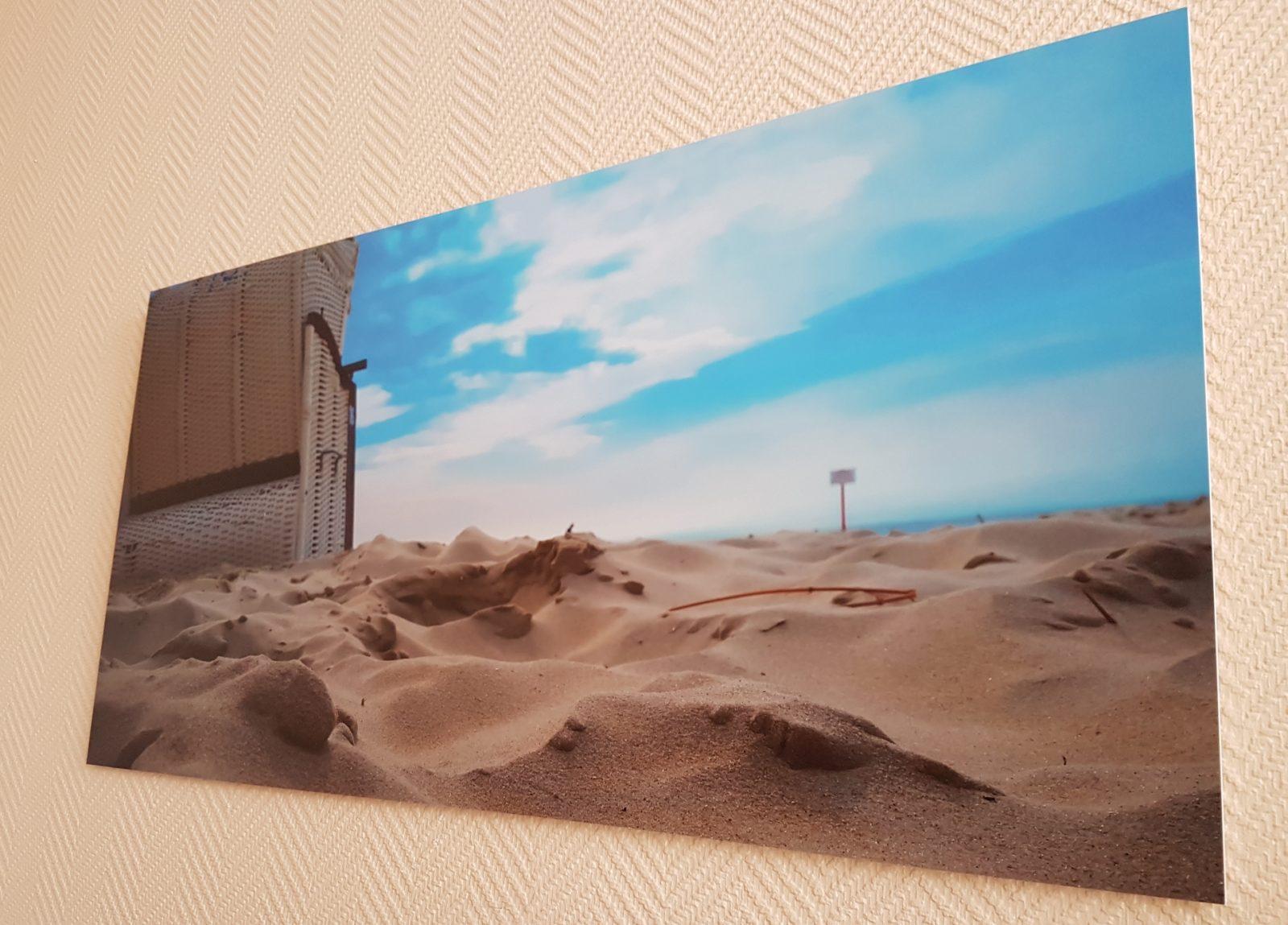 Bringt Farbe an die Wand! – Saal Digital Wandbild Test