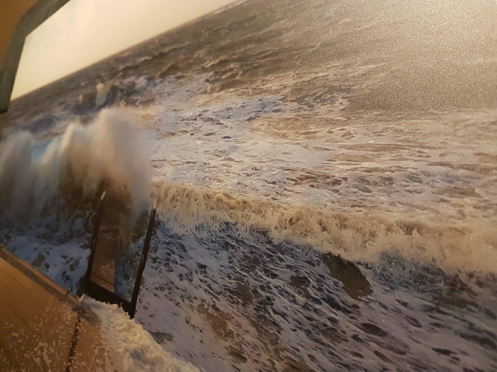 Stürmische See an den Wänden? – Ganz einfach mit einem Wandbild von Saal Digital