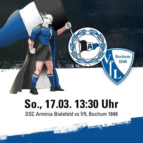 Auf geht's Arminia! Ich freue mich schon auf das Heimspiel gegen VfL Bochum, ihr auch? Wenn ihr Interesse an Tickets habt könnt ihr über mich vergünstigt Tickets kaufen. Schreibt mir einfach eine PN. #arminiabochum